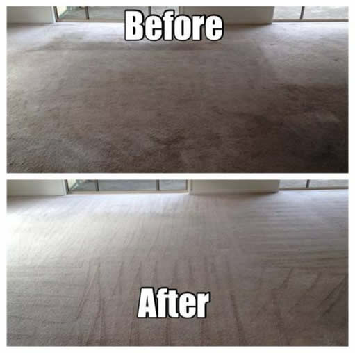 Before and After Gold Coast Carpet Cleaning